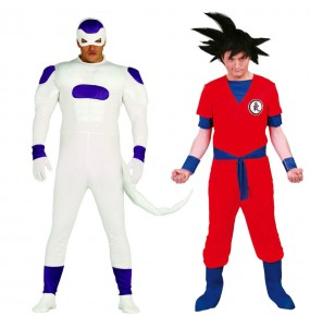 Déguisements Dragon Ball - Freezer et Son Goku