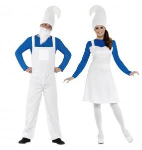 Déguisements Gnomes Bleus