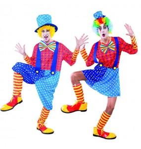 Déguisements Clowns Bleus