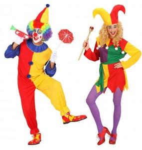 Déguisements Clowns Amusants