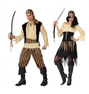 Déguisements Pirates Jaunes