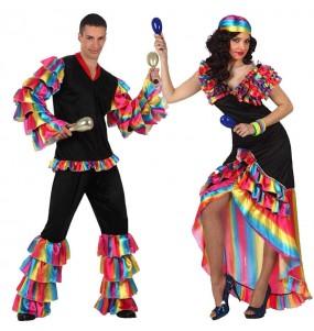 Déguisements Danseurs Rumba Caraïbes