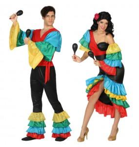 Déguisements Danseurs Rumba Tropicaux