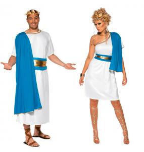 Déguisements Sénateurs Romains Bleus