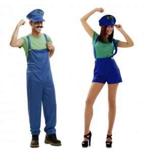 Déguisements Super Couple Luigi