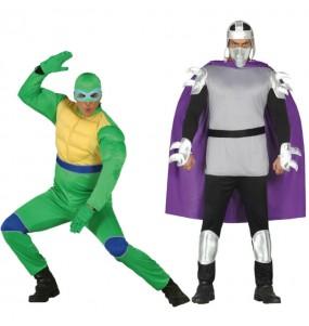 Déguisements TMNT - Tortue et Shredder