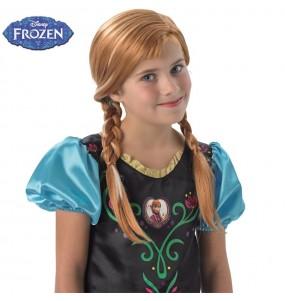 Perruque Anna Frozen pour fille