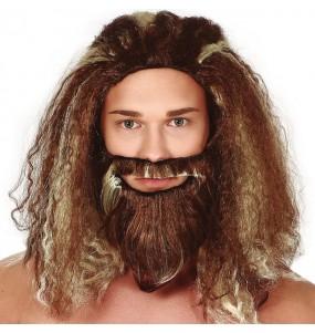 Perruque Aquaman avec barbe