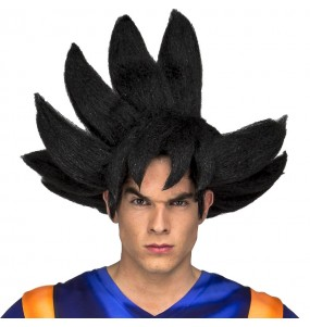 Perruque Goku adulte