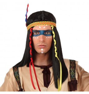 Perruque Indien américain