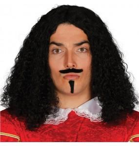 Perruque Mousquetaire D'Artagnan