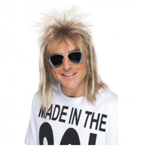 Perruque Mullet années 80