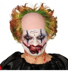 Perruque Clown Diabolique avec chauve