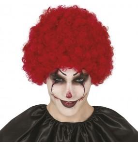 Perruque bouclée Clown maléfique