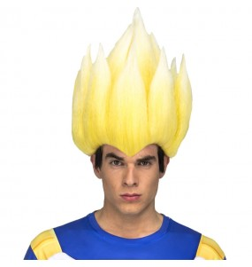Perruque Vegeta Super Saiyan adulte