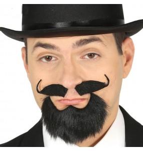 Bouc et moustache Majestueux