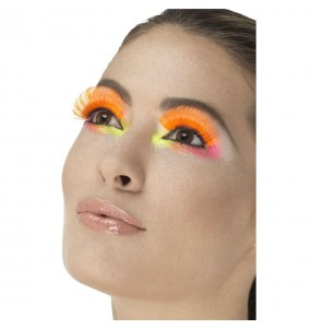 Faux cils Orange Fluo