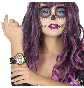Bracelet Catrina mexicaine
