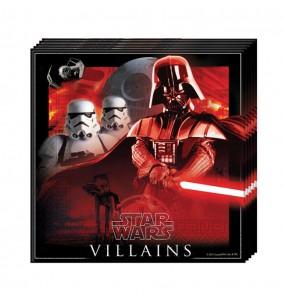 Serviettes anniversaire Star Wars®