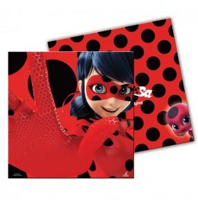 Serviettes anniversaire Ladybug®