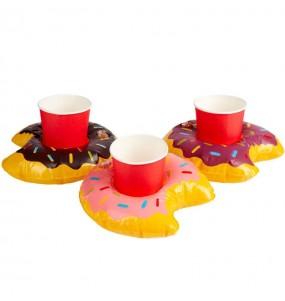 Kit Dessous de verre Doughnut gonflable