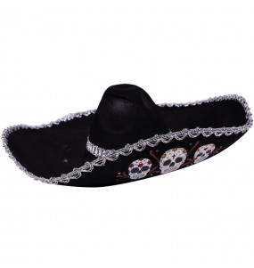 Chapeau Mariachi Mort mexicaine