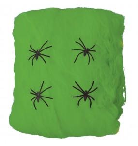 Toile d'araignée verte 60 grammes