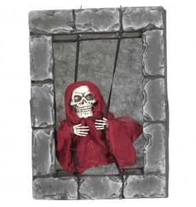 Fenêtre squelette décoration