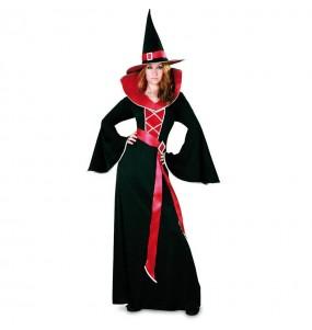 Déguisement Sorcière Grenat Halloween