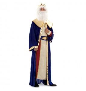 Déguisement Roi Mage Melchior Doré