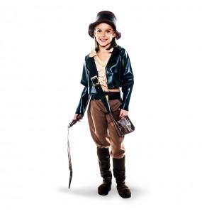 Déguisement Archéologue Indiana Jones Fille