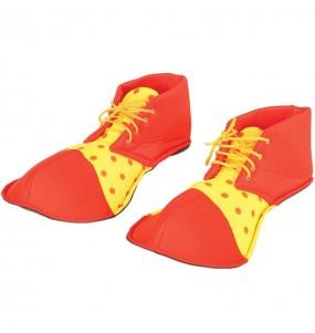 Chaussures Clown Rouges et Jaunes