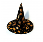 Chapeau Sorcière Tissu Halloween