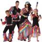 Groupe Danseurs Rumba Multicolore