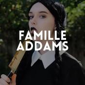 Boutique en ligne déguisements Famille Addams pour adultes et enfants