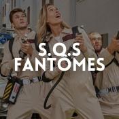 Boutique en ligne déguisements SOS Fantômes pour adultes et enfants