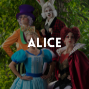 Catalogue de déguisements Alice au pays des merveilles pour garçons, filles, hommes et femmes
