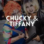Boutique en ligne déguisements originaux de Chucky et sa fiancée