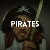 Catalogue de déguisements pirates pour garçons, filles, hommes et femmes