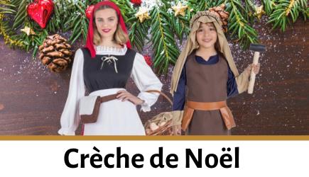 Acheter déguisements Crèche de Noël pour enfants et adultes