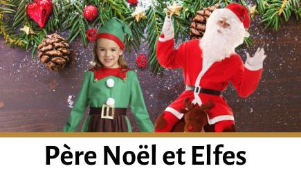 Acheter déguisements Père Noël et elfes pour enfants et adultes