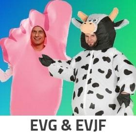 Idées déguisements pour EVG et EVJF