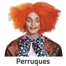 Perruques pour costumes Carnaval