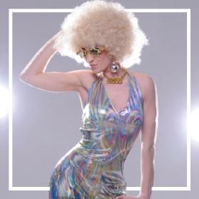 Acheter en ligne les costumes musique Disco les plus originaux de Carnaval