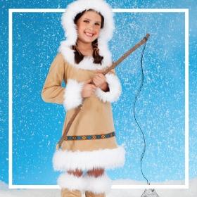 Acheter en ligne les costumes esquimaux les plus originaux de Carnaval