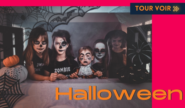 Costumes terreur pour Halloween 2021
