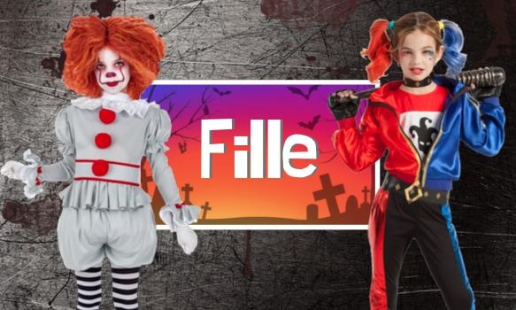 Déguisements Halloween pour filles