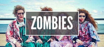 Déguisements Halloween de Zombies et morts vivants