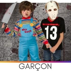 Déguisements garçons pour Halloween