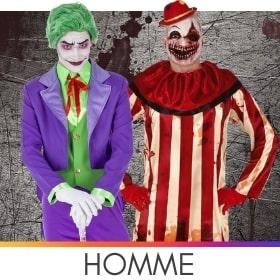 Déguisements hommes pour Halloween
